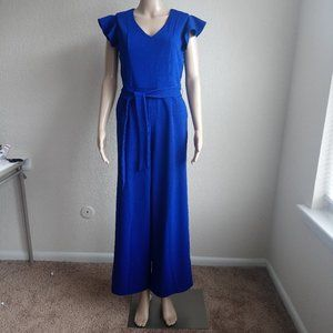 TAHARI Royal Blue Women's JUMPSUIT Size 4/6